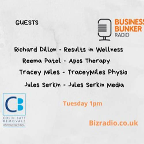 Tracey on Kent Business Bunker Radio