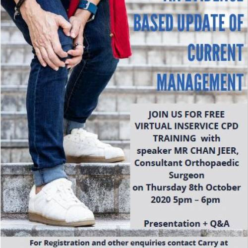 Knee Arthritis - an Evidence Based Update on Current Management